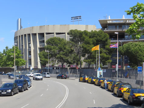 Camp Nou, Barcelona Spain
